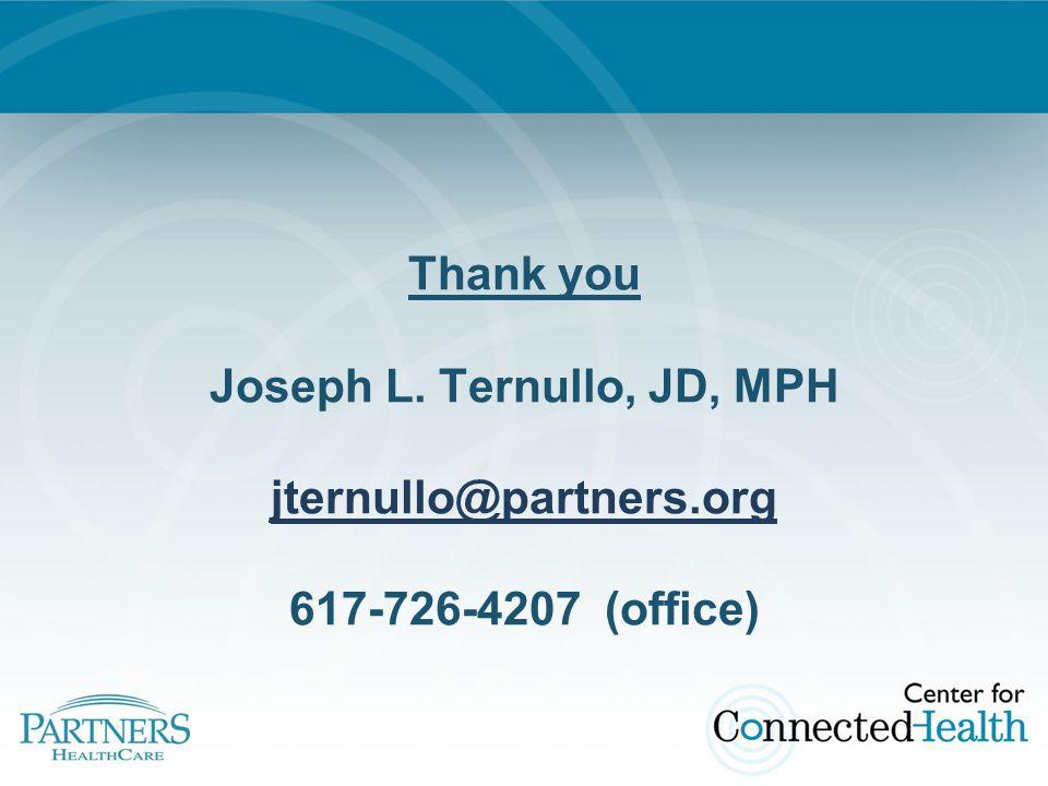Thank you Joseph L.