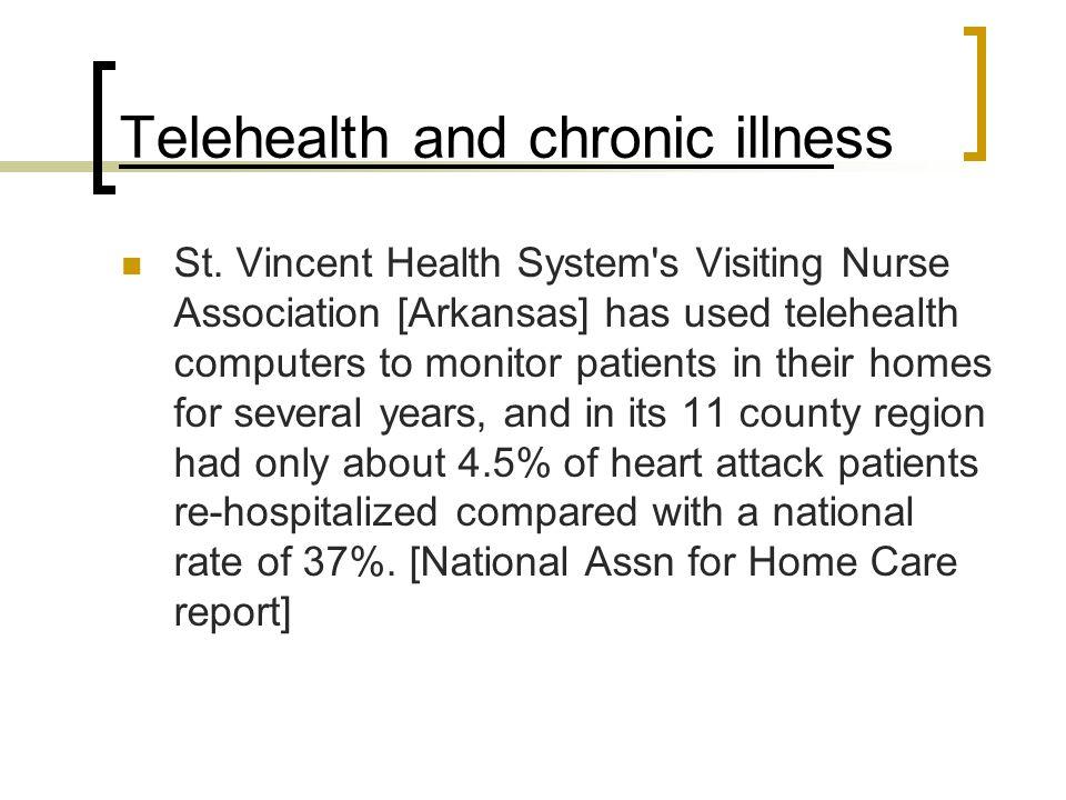 Telehealth and chronic illness St.