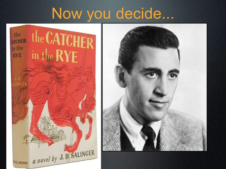 Now you decide...
