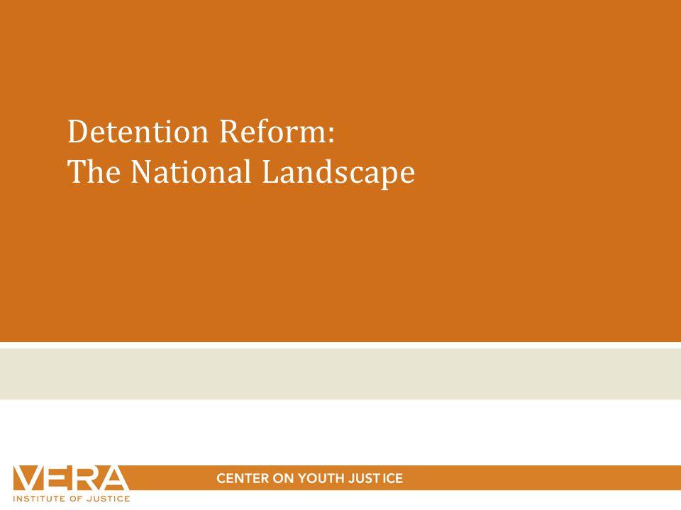 Detention Reform: The National Landscape