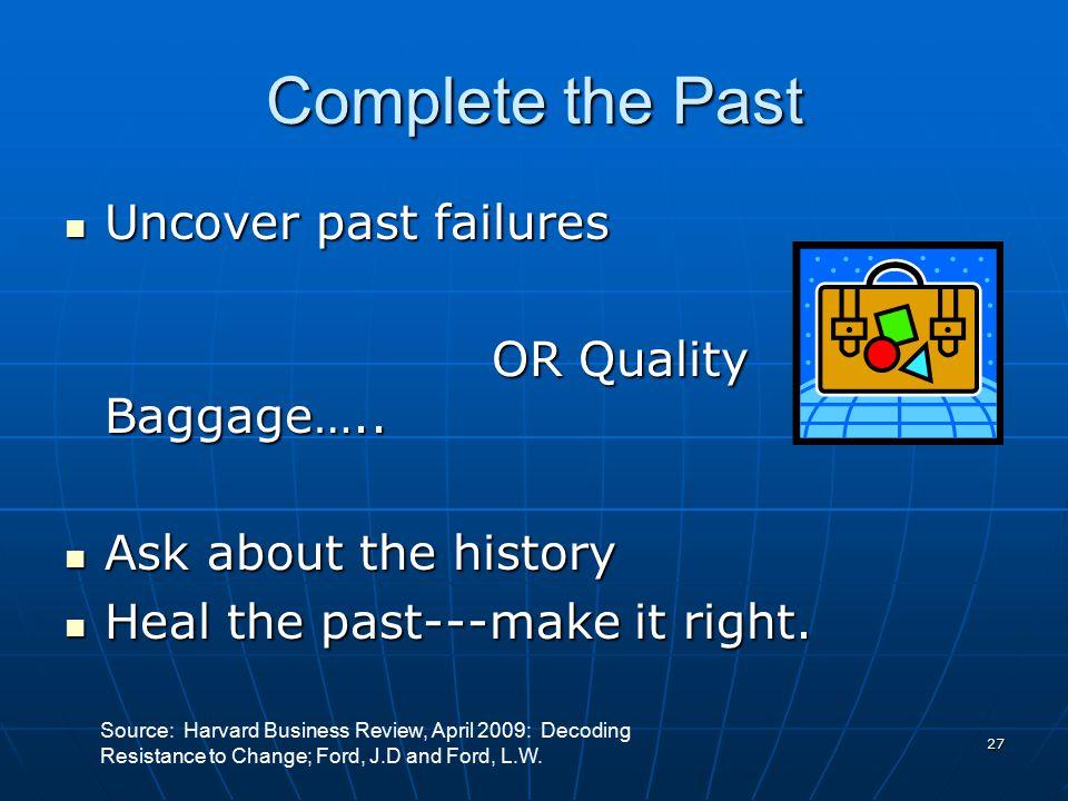 26 Build Participation and Engagement Elicit ideas Idea list Elicit ideas Idea list Elicit concerns Worry list Elicit concerns Worry list Listen…..and