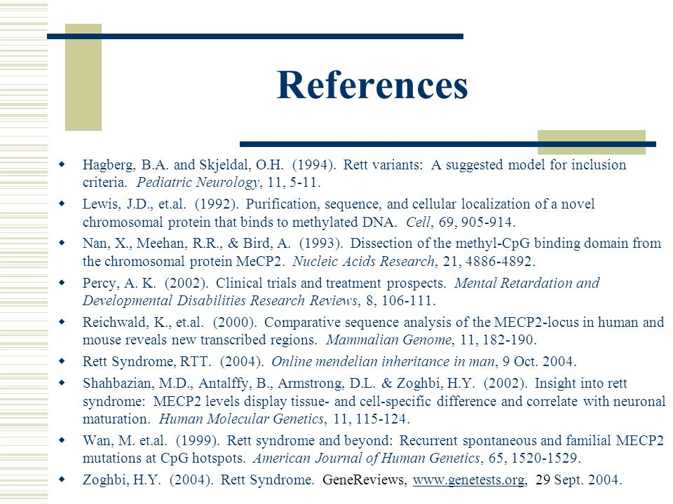 References  Hagberg, B.A. and Skjeldal, O.H. (1994).