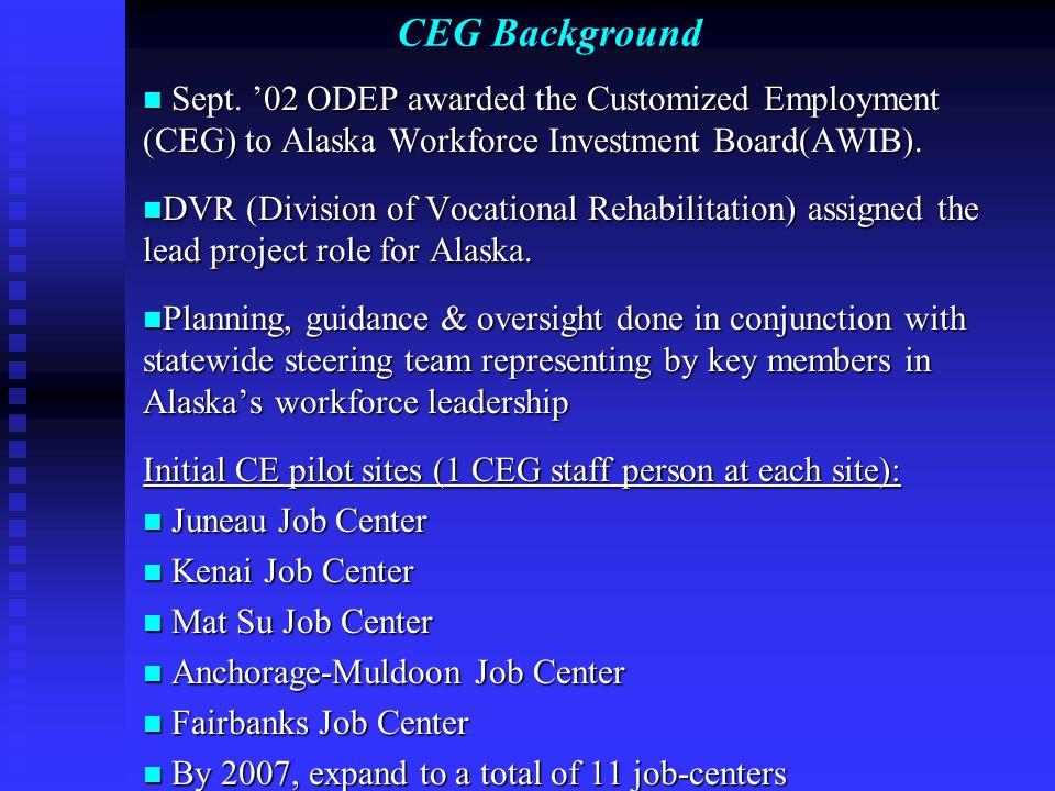 CEG Background Sept.