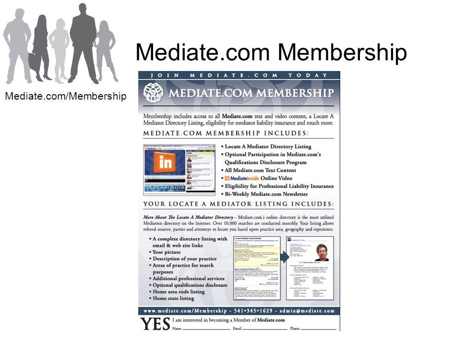 Mediate.com Membership Mediate.com/Membership