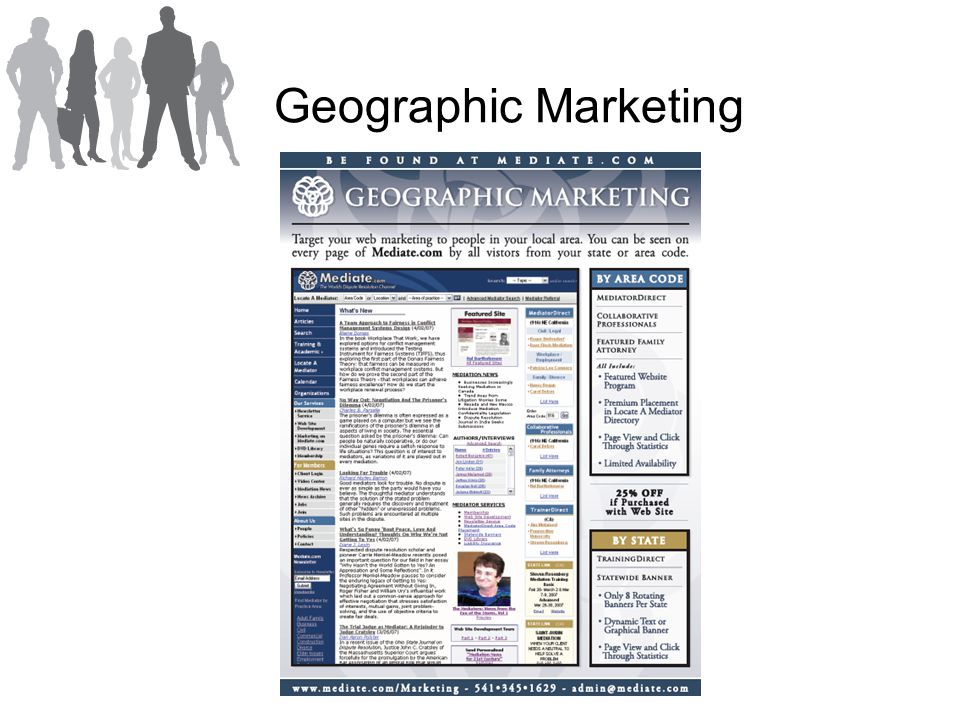 Geographic Marketing
