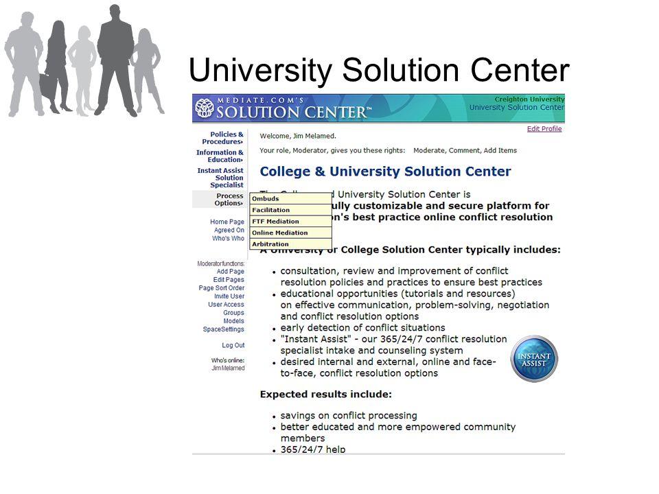 University Solution Center