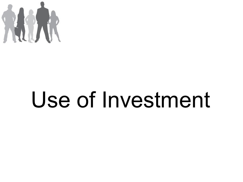 Use of Investment