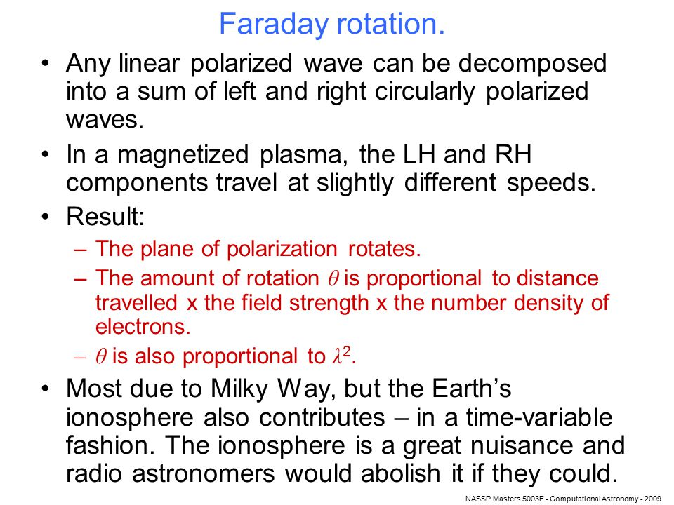 NASSP Masters 5003F - Computational Astronomy - 2009 HIHI Because the transition is so weak, and also because of Doppler broadening, hydrogen is practically always optically thin (ie completely transparent).