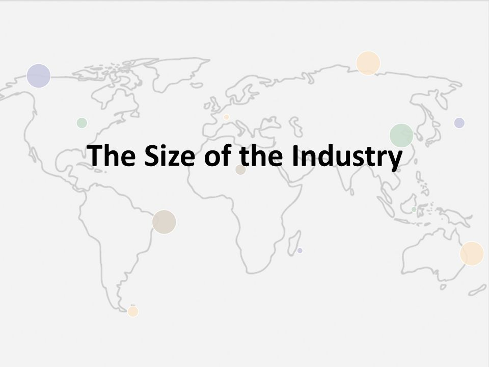 The Size of the Industry