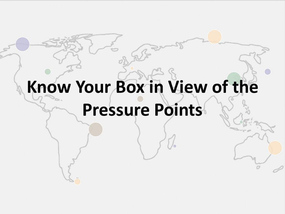Know Your Box in View of the Pressure Points