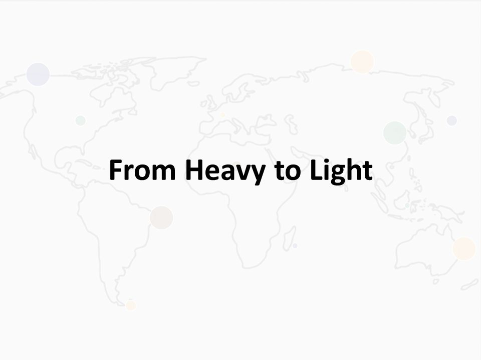 From Heavy to Light