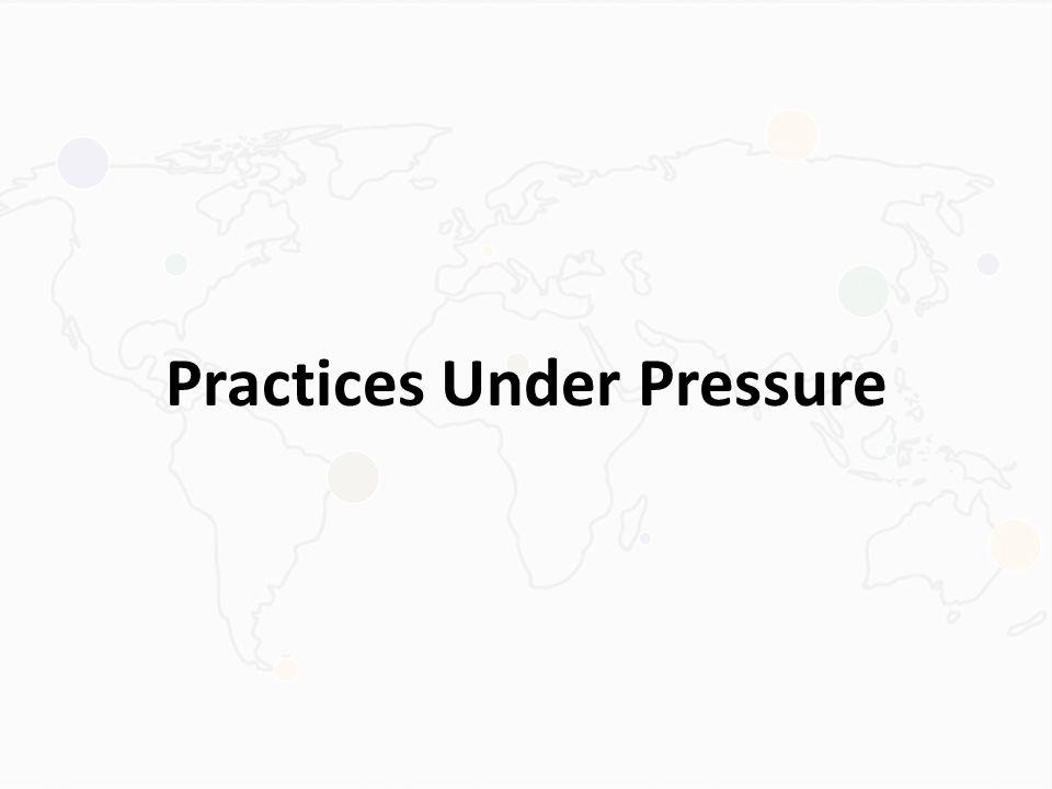 Practices Under Pressure
