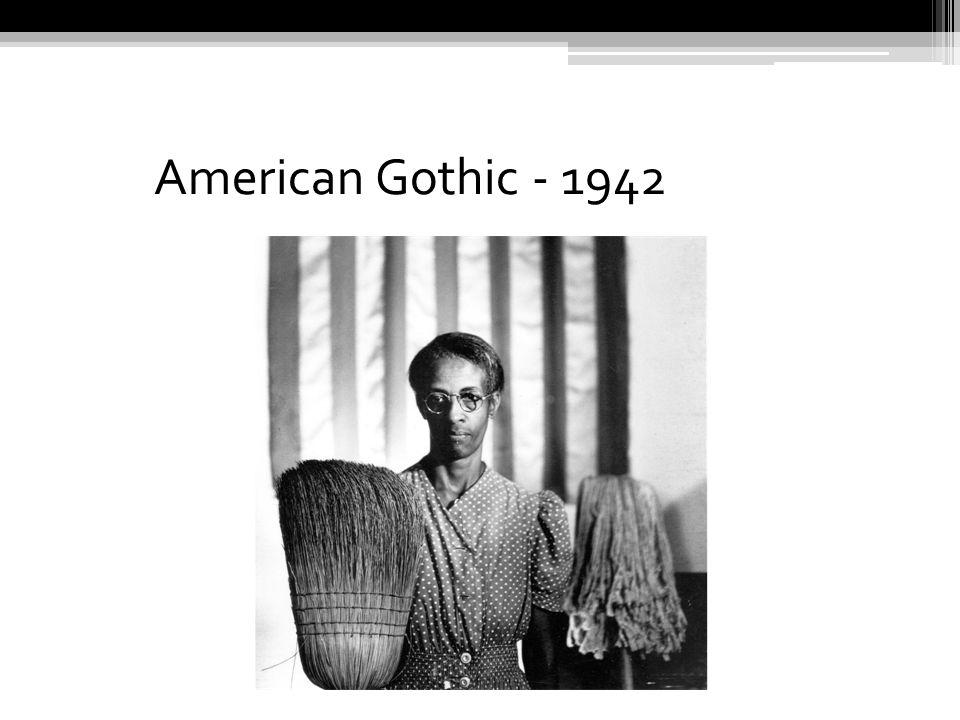 American Gothic - 1942