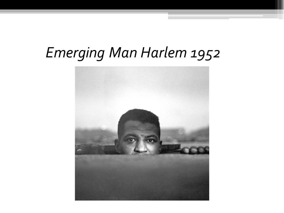 Emerging Man Harlem 1952