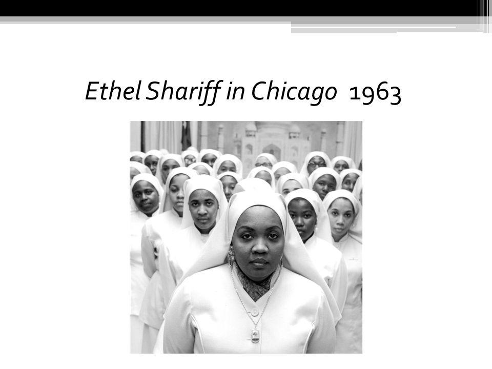 Ethel Shariff in Chicago 1963
