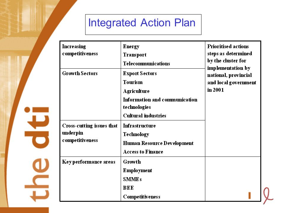 Integrated Action Plan