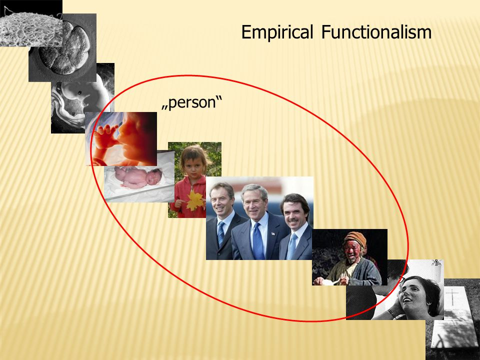 "Empirical Functionalism ""person"