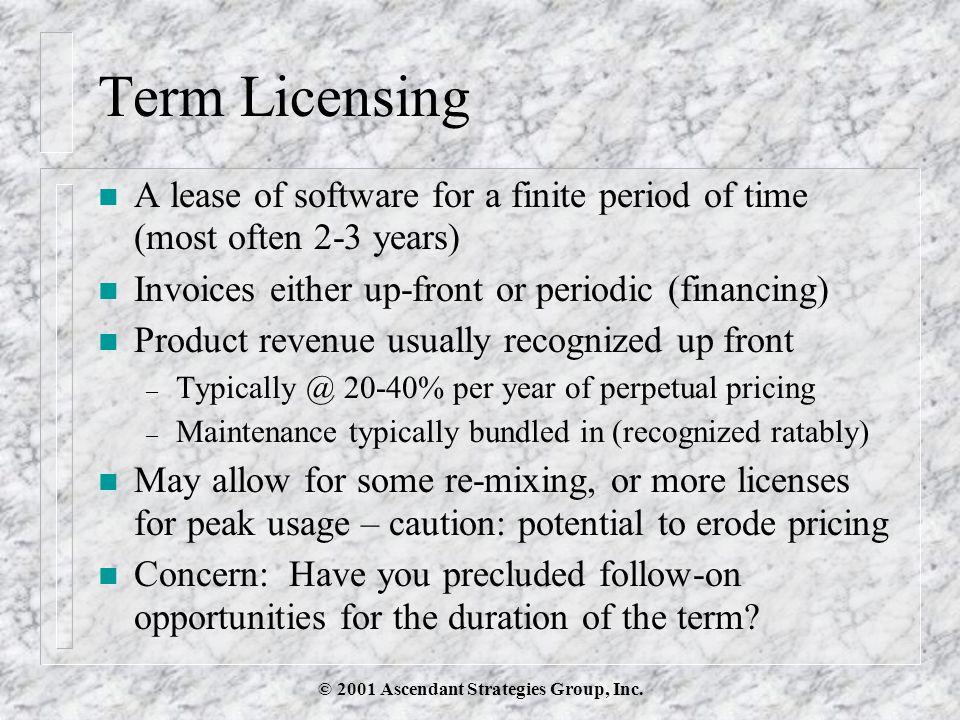 © 2001 Ascendant Strategies Group, Inc.Subscriptions: Model of Virtue.