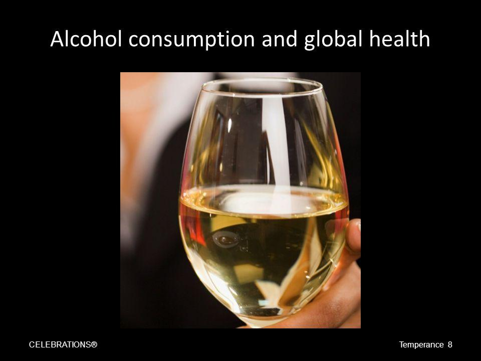 Binge drinking is increasing CELEBRATIONS®Temperance 9