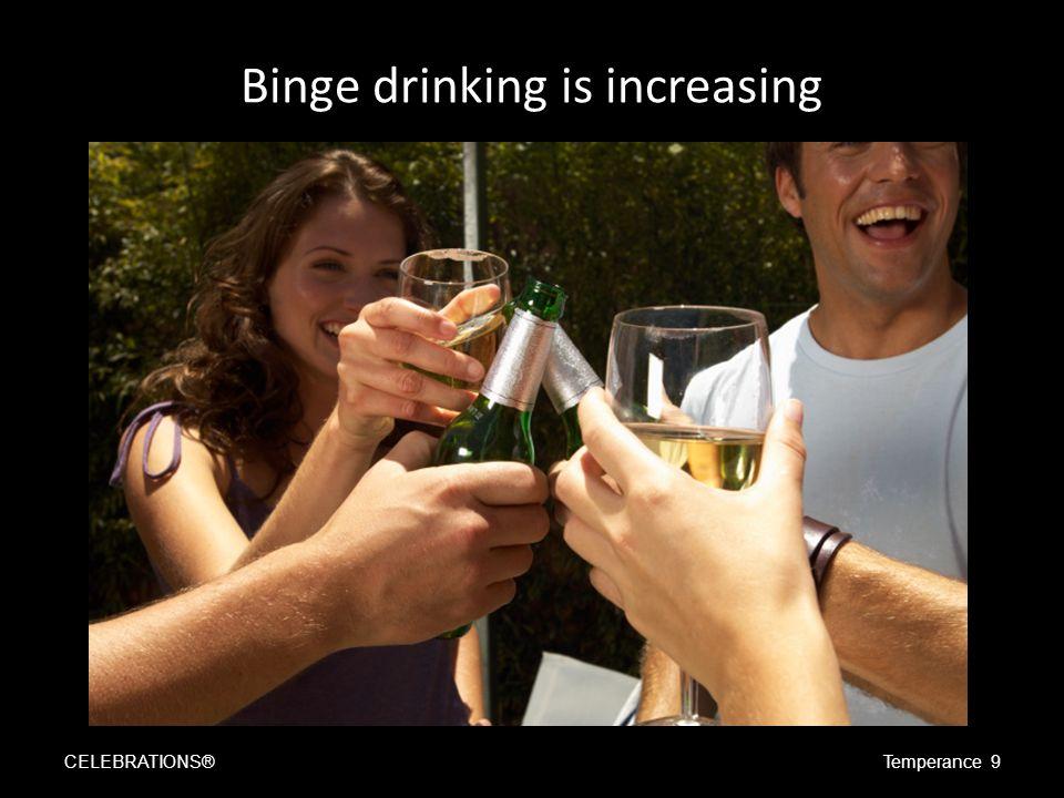 Alcohol…is dangerous CELEBRATIONS®Temperance 10