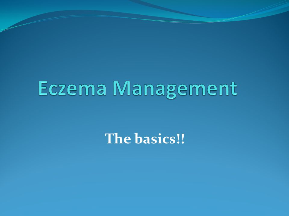 The basics!!