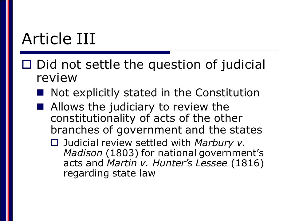 Who Are Federal Judges. Typically they have held other political offices.