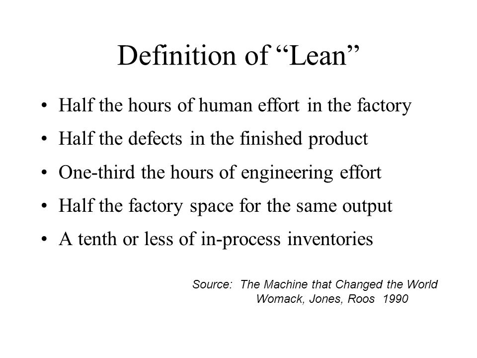Lean Manufacturing uis a manufacturing philosophy which shortens the time line between the customer order and the product shipment by eliminating waste.