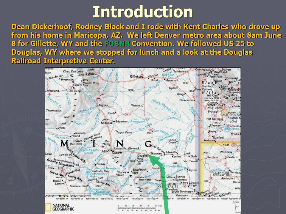 On the way to Gillette Douglas, WY Railroad Interpretive Center CB&Q #5633 4-8-4