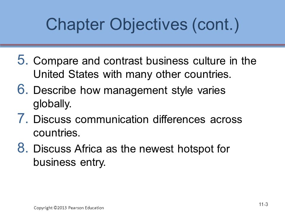 Chapter Objectives (cont.) 5.