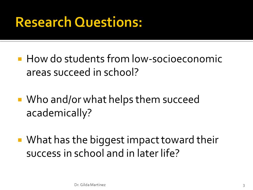  How do students from low-socioeconomic areas succeed in school.
