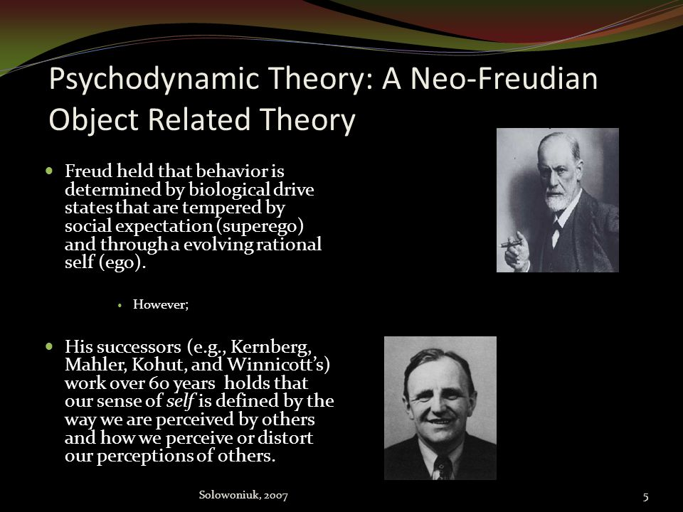 A prelude: Psychodynamic Theory and Addiction Addiction occurs in and amongst psychological development (ego or self development). First and foremost