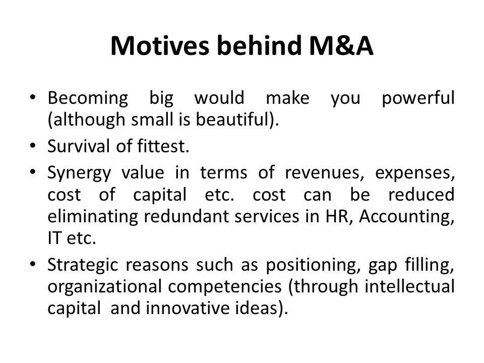 Financial fit: sales, profitability, return on capital, cash flow etc.