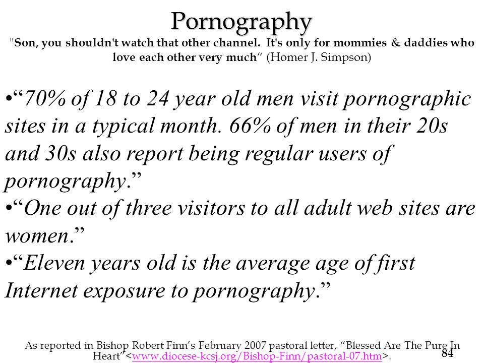 Pornography Pornography Son, you shouldn t watch that other channel.
