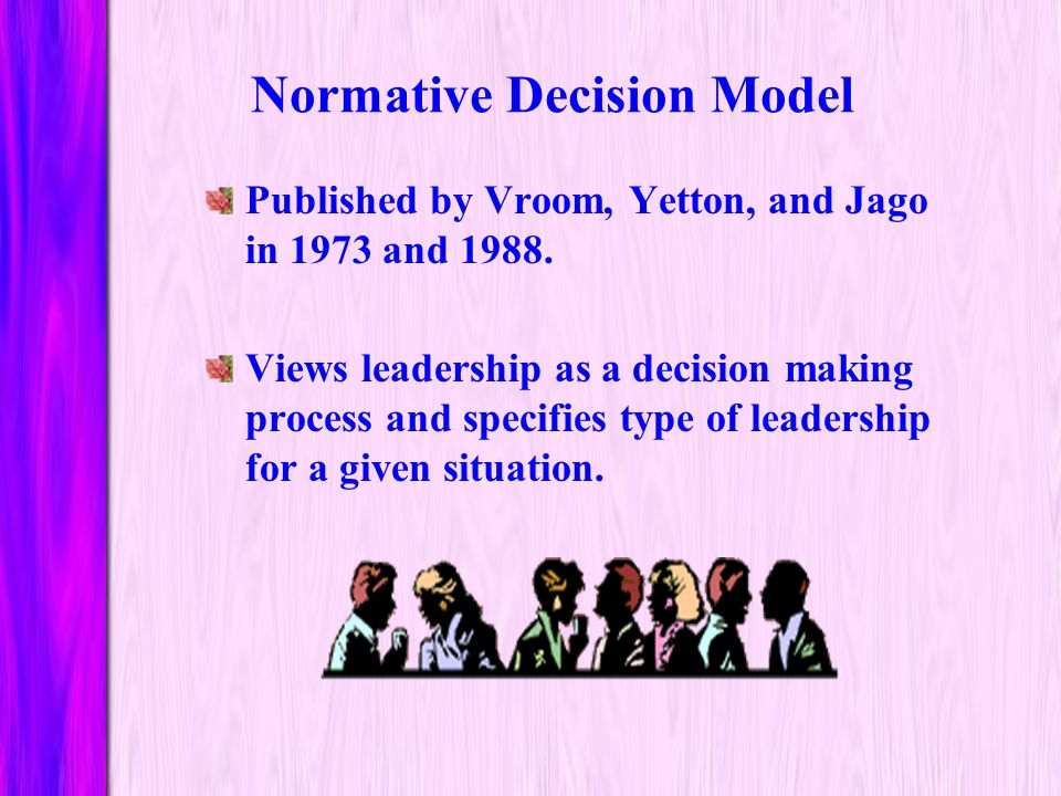 Evaluation of Situational Model Builds on other explanations of leadership that emphasize the role of task and relationship behaviors. Utilizes common