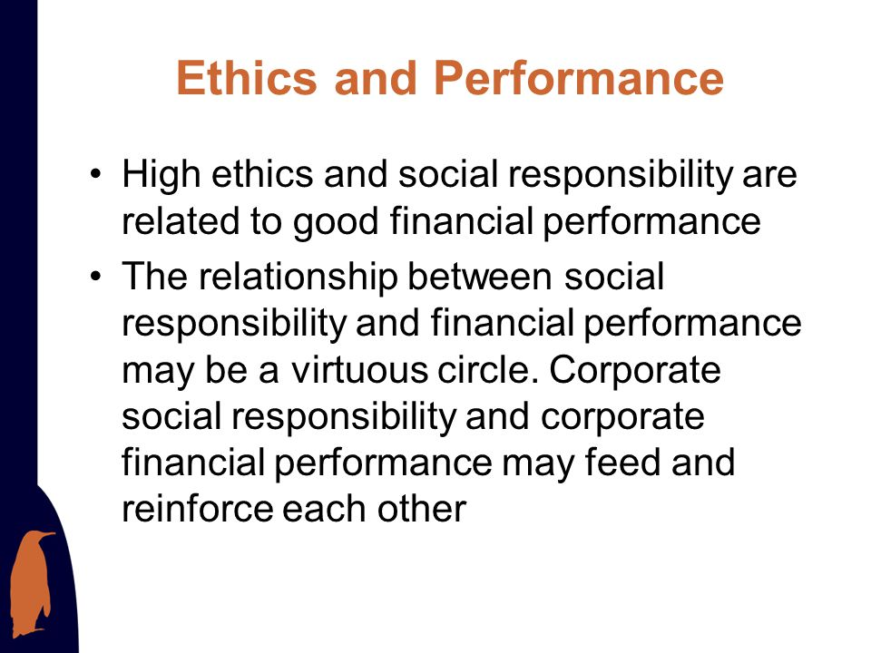 Creating an Ethical and Socially Responsible Culture Providing strategic leadership of ethics and social responsibility Establishing written codes of