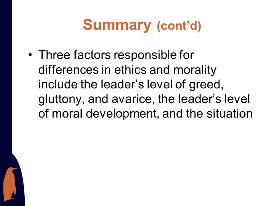 Summary Key principles of ethical leadership include having honesty and integrity, paying attention to all stakeholders, building community, respectin