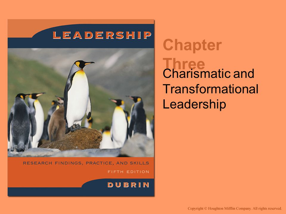 Summary (cont'd) Mental ability is important for leadership success Traits, motives, and characteristics required for leadership are a combination of