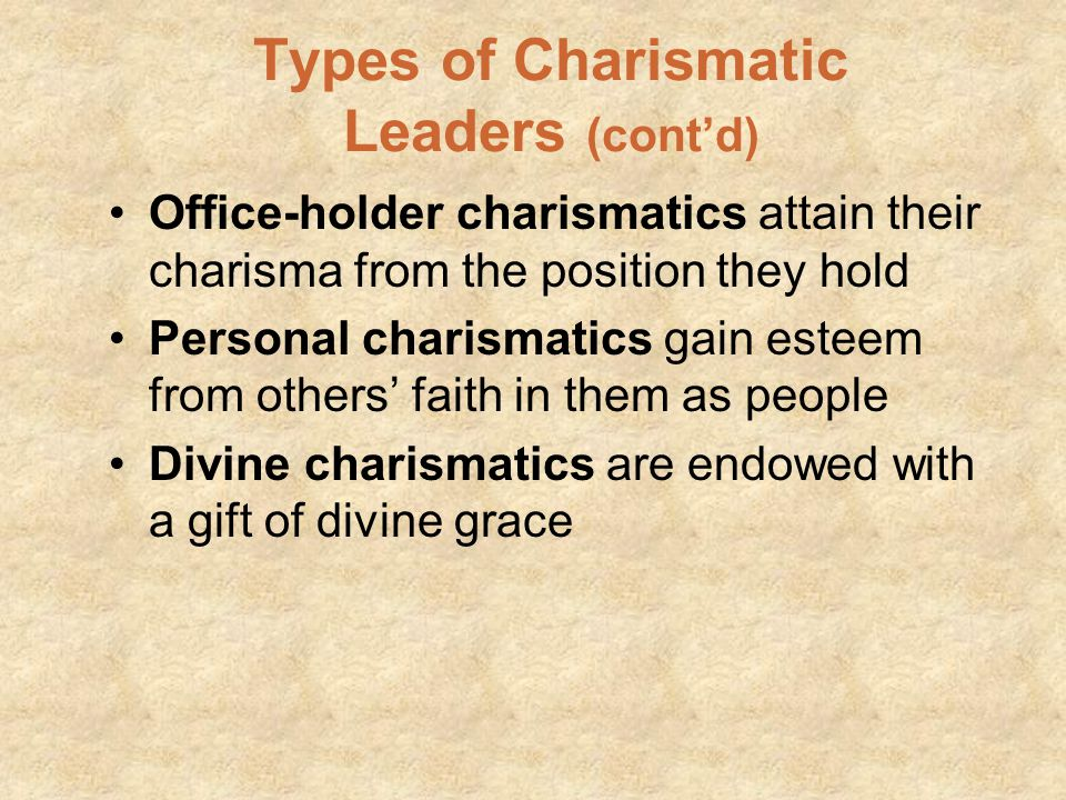 Halpert's Dimensions of Charisma