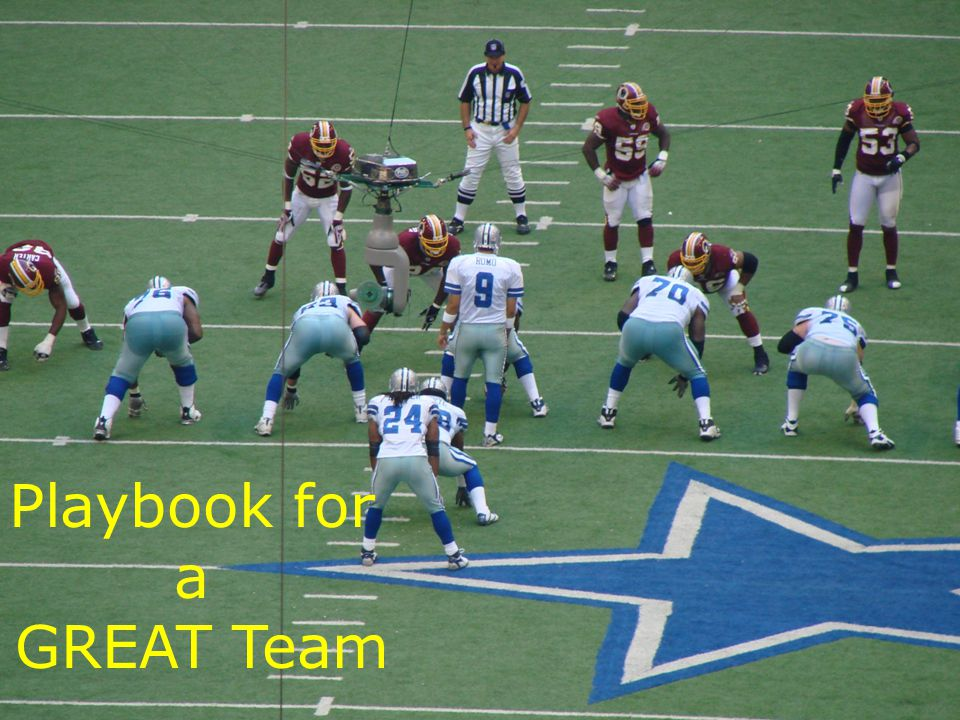 Playbook for a GREAT Team UNT in partnership with TEA, Copyright © All rights reserved 12