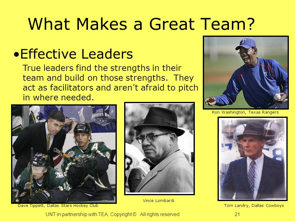 What Makes a Great Team.
