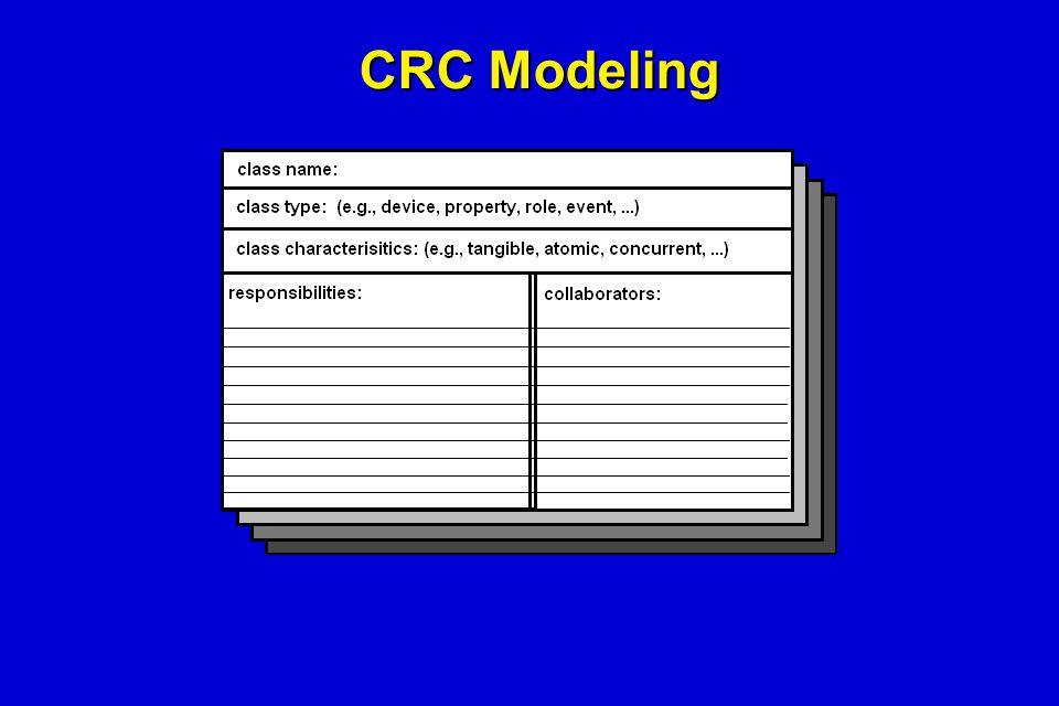 CRC Modeling