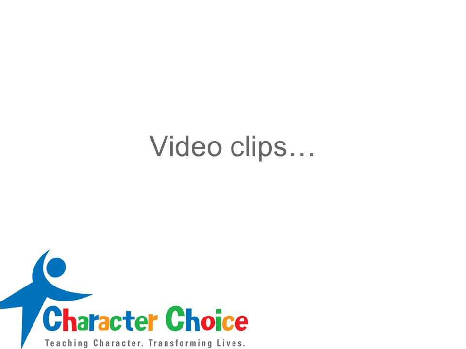Video clips…