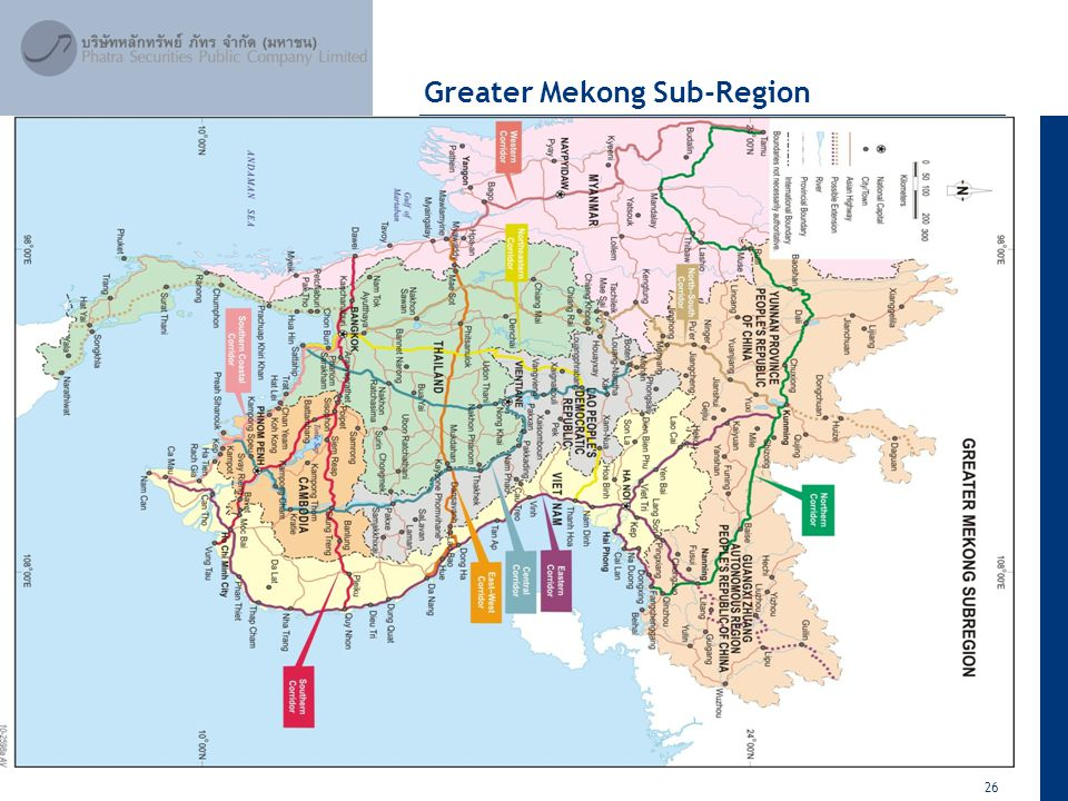 26 April 2012 Greater Mekong Sub-Region