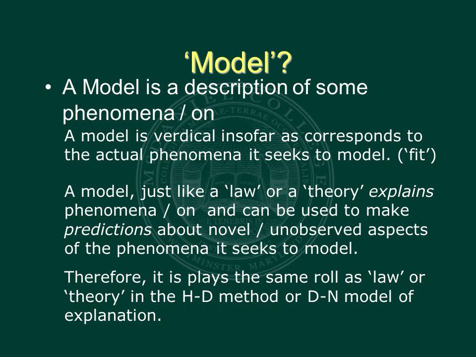 'Model'.
