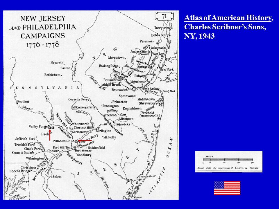 Atlas of American History, Charles Scribner's Sons, NY, 1943