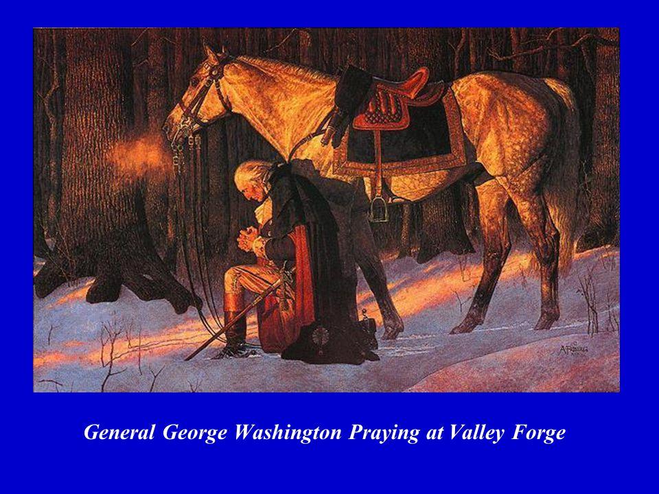 General George Washington Praying at Valley Forge