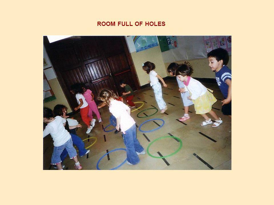 ROOM FULL OF HOLES