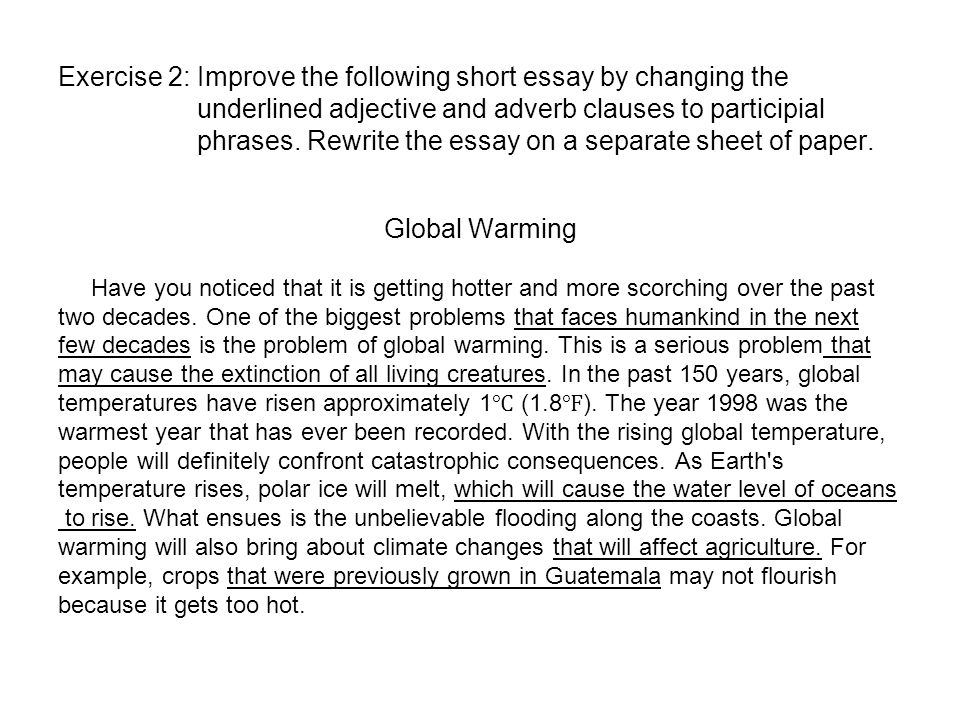 How To Stop Global Warming Essay   Original How To Stop Global Warming English Writers Essay