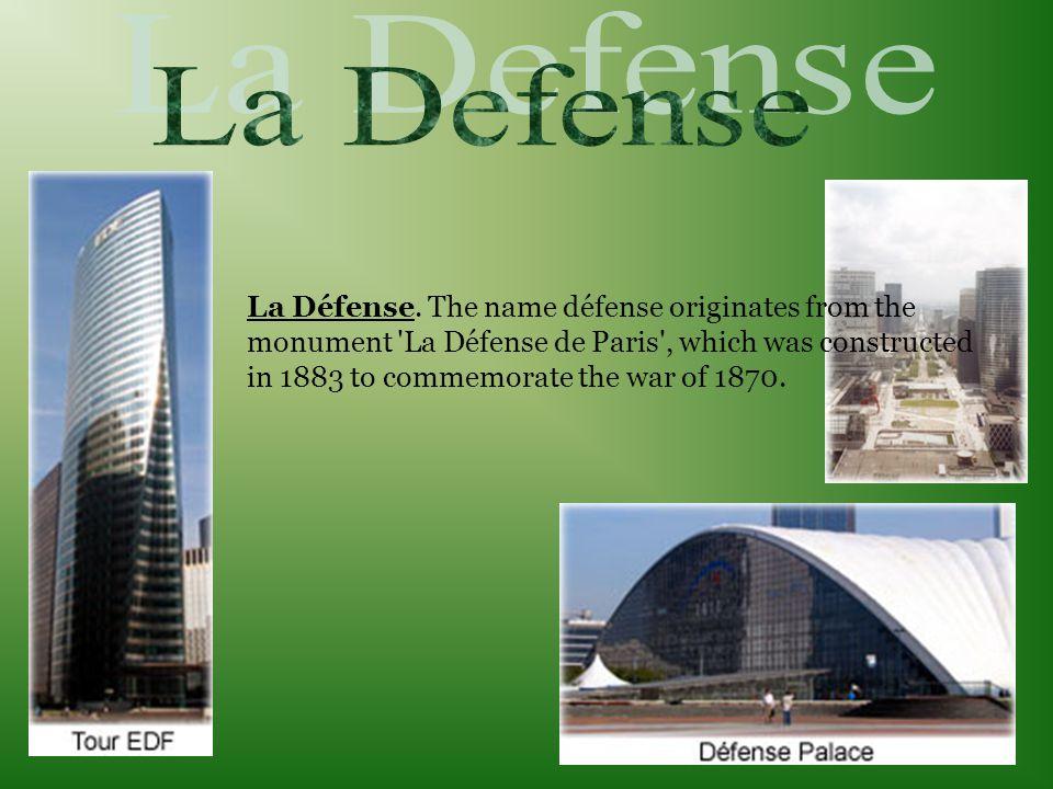 La Défense.