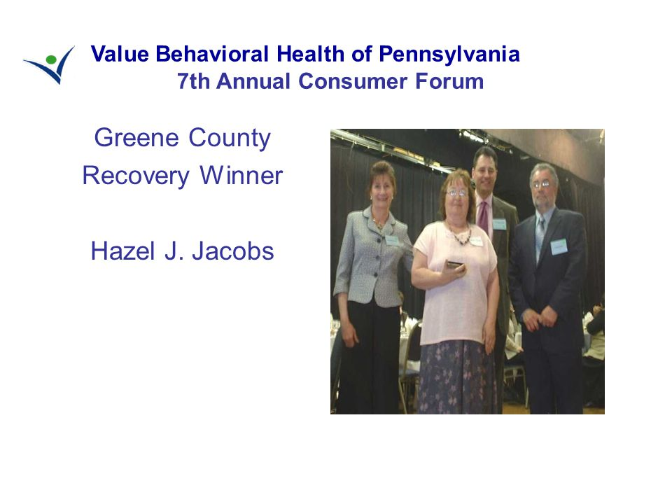 Greene County Recovery Winner Hazel J.